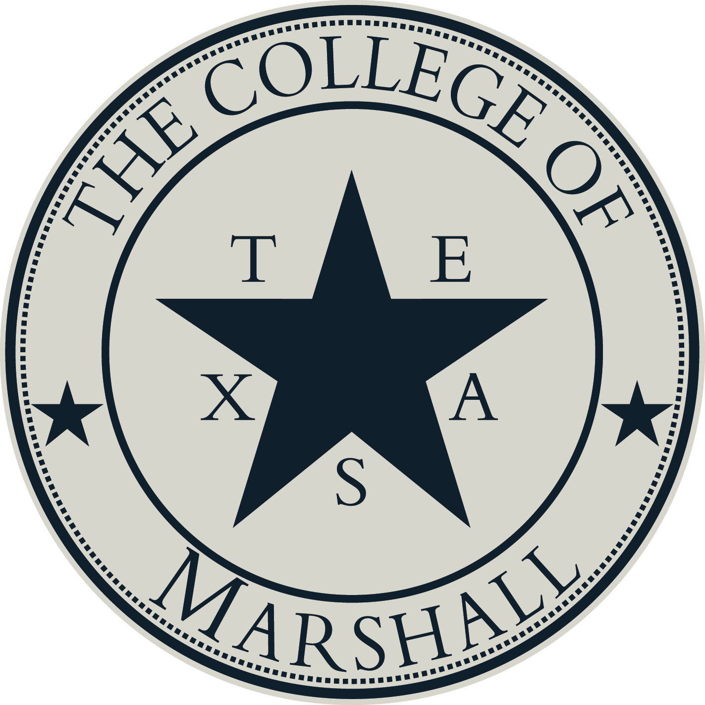 College of Marshall seal