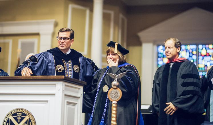 Dr. Laurie Smith receives Professor with Distinction Award