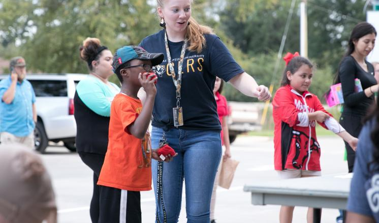 ETBU Learning and Leading hosts Fall Festival for MISD families