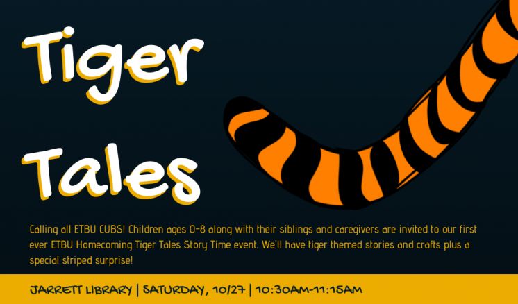 Tiger Tales Storytime