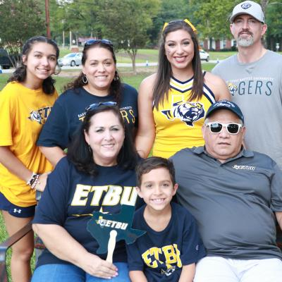 ETBU students welcomed their families to campus for the University's annual Family Weekend.
