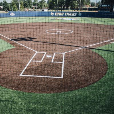 East Texas Baptist University's Taylor Field was named by Turface Athletics as 2018 NFCA Field of the Year in NCAA Division III.
