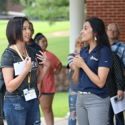 East Texas Baptist University hosted prospective students and their families on campus for Preview Day on Monday, October 8. The event provided a comprehensive overview of life at ETBU through informational sessions, campus tours, an academic showcase, a student panel, and chapel service.