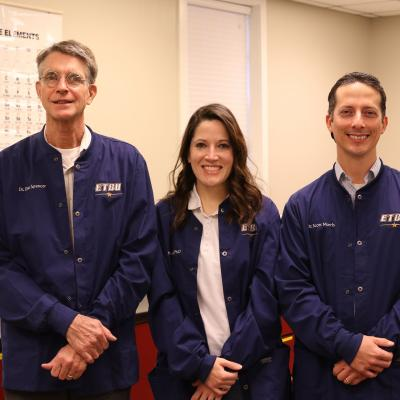 ETBU Chemistry Department receives considerable research grant from The Welch Foundation