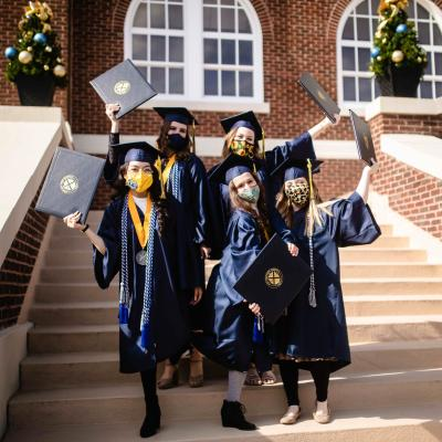 ETBU celebrates Fall 2020 graduates at commencement services