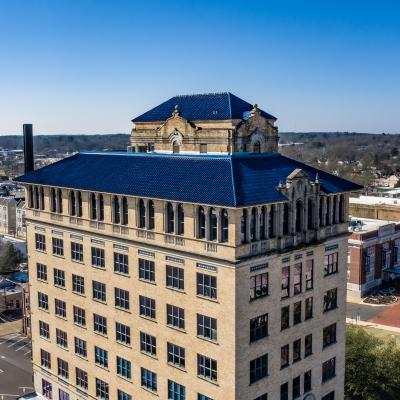 ETBU's Historic Marshall Grand receives national recognition for historic roof renovation