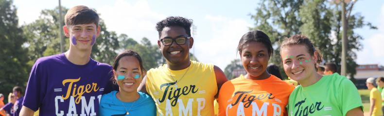 ETBU sparks connection through Fall 2019 Move-In and Tiger Camp