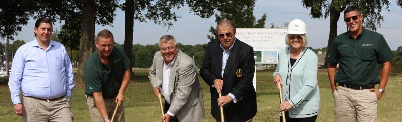 ETBU breaks ground on Kenny Ponder Park and Chapel on the Hill