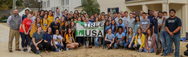 East Texas Baptist recognized as Tree Campus USA