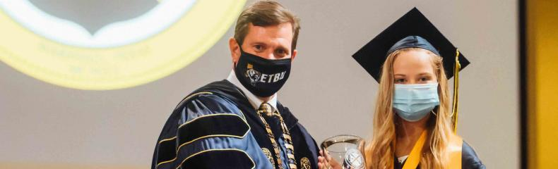 "ETBU celebrates Spring 2020 Class at ""in-person"" and ""virtual"" commencement services"